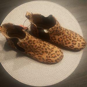 New Cheetah Chelsea Boots
